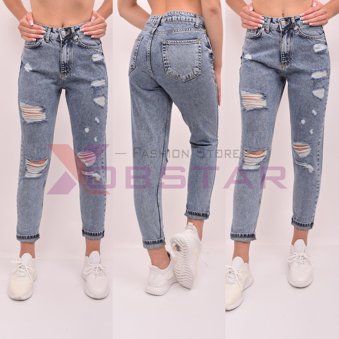 Blugi Dama BoyFriend Fashion XobStar